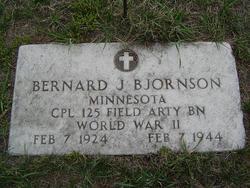 CPL Bernard Junior Bjornson