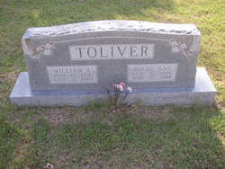 Maude Ann <I>Pegram</I> Toliver