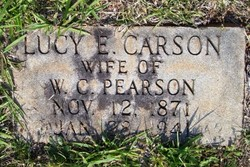 Lucy E. <I>Carson</I> Pearson