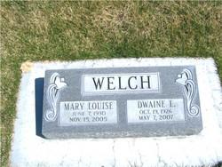 Mary Louise <I>Cress</I> Welch