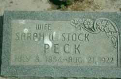 Sarah Wilkinson <I>Stock</I> Peck