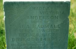 Hadda Victoria <I>Anderson</I> Radmall