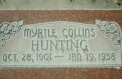 Myrtle <I>Collins</I> Hunting