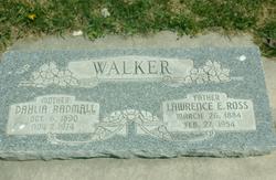 Lawrence Ross Walker