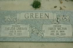 Thelma <I>Larson</I> Green