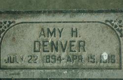 Amy Carlotta <I>Hebertson</I> Denver