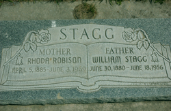 Rhoda May <I>Robison</I> Stagg