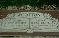 Harold Wootton