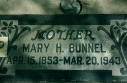 Mary Hannah <I>Muir</I> Bunnel