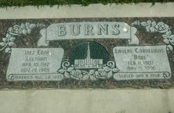 "Laverl Cornelious ""Bobe"" Burns"