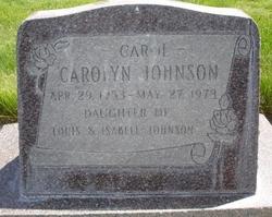 Carolyn Johnson