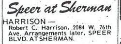 Robert Colonel Harrison