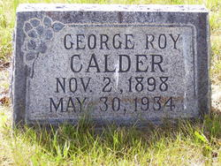 George Roy Calder