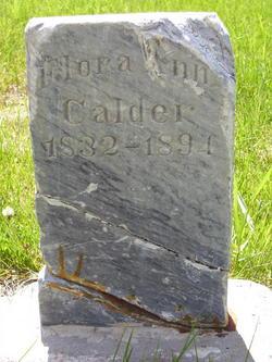 Flora Ann <I>Simmons</I> Calder