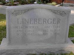 Laura Jane <I>Clark</I> Lineberger