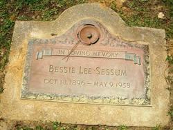 Bessie Lee <I>McCoy</I> Sessum