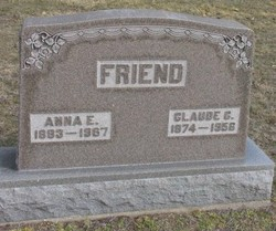 Anna E. <I>Hughes</I> Friend