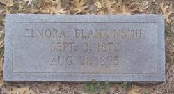 Elnora <I>Boone</I> Blankenship