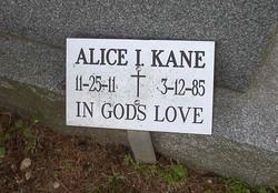 Alice I. Kane