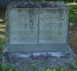 Thomas D Rivers