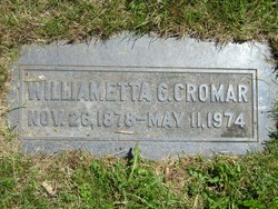 Williametta G Cromar