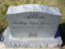 Kathy Lyn <I>Jensen</I> Allen