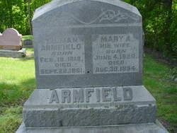 Mary A. <I>Pickering</I> Armfield