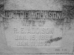 Hattie <I>Johnson</I> Addison