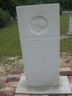 """Mary """"Polly"""" <I>Townley</I> Bowman"""