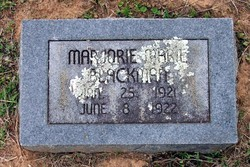 Marjorie Marie Blackman