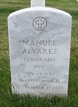 Pvt Manuel Maria Alvarez