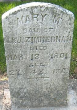 Mary M Zimmerman