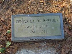 Geneva Lalon <I>Dixon</I> Barbour