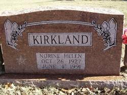 Norine Helen <I>Cutbirth</I> Kirkland