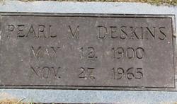 Pearl May <I>Blanton</I> Deskins