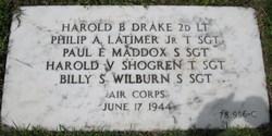 2LT Harold Bertram Drake