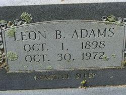 Leon B Adams