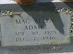 Mac Allen Adams