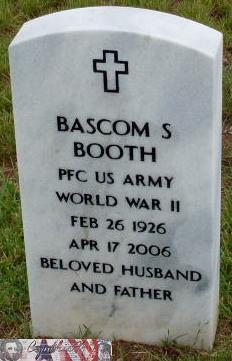 PFC Bascom Slemp Booth