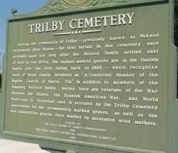 Trilby Cemetery