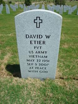 David Wayne Etier