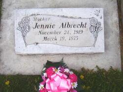 Jennie <I>Frost</I> Albrecht