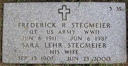 Frederick R. Stegmeier