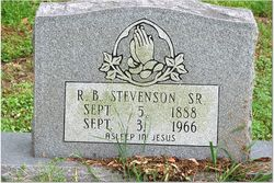 Reuben Stevenson, Sr