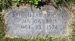 Lon D Aldridge