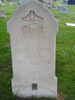 Nancy Ann <I>Elliott</I> Grow