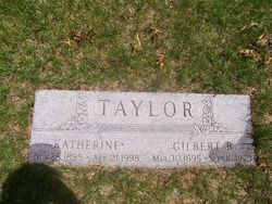 Katherine Thankful <I>Sprague</I> Taylor