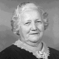 """Mary Jane """"Min"""" <I>Ferguson</I> Kuykendall"""