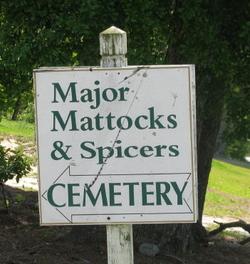 Major Mattocks & Spicers Cemetery