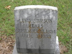 Lewis Simpson Mears